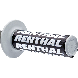 Renthal Clean Grip - Renthal Road Race Dual Compound Grip - Grey/Black