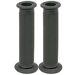 Renthal Grip Road Race Firm - Renthal Road Race Dual Compound Grip - Grey/Black