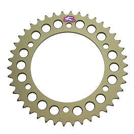 Renthal Rear Sprocket 520 - 2003 Kawasaki ZX600 - Ninja ZX-6RR Vortex Front Steel Sprocket