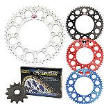 Renthal Chain & Sprocket Kit - Kawasaki KX100 Dirt Bike Drive