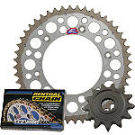 Renthal Twin Ring Sprocket Kit - DID-DIRT-BIKE-PARTS-CHAIN-520-ERV3-XRING-120-LINKS DID Dirt Bike