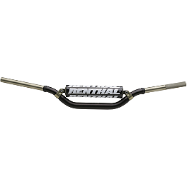 "Renthal Twinwall Handlebars - Oversized 1-1/8"" - Renthal Dual Compound Grips - Twist Throttle"