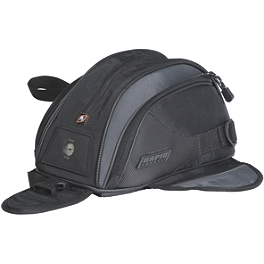 Rapid Transit Recon 11 Magnetic Tank Bag - Black - Motocentric Mototrek 19L Tank Bag - Magnetic Mount