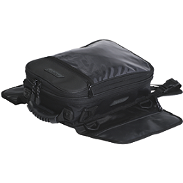 Rapid Transit Big City Magnetic Tank Bag - Black - Firstgear Onyx Magnetic Tank Bag