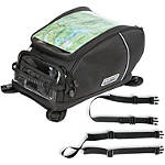 Rapid Transit Commuter Expandable Tank / Tail Bag Combo -  Motorcycle Tank Bags