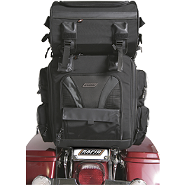 Rapid Transit Division Tail Frame Bag - Black - Rapid Transit Commuter Expandable Tank / Tail Bag Combo