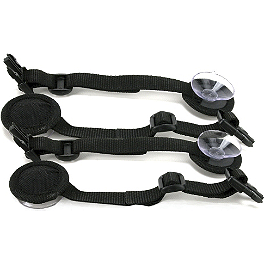 Rapid Transit Commuter Suction Cup Mount Kit - Nelson-Rigg Triple Threat Suction Cups