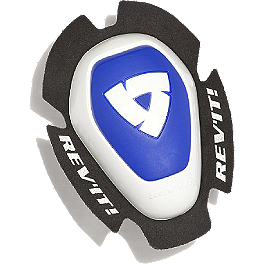 REV'IT! Dual Comp Type A Knee Sliders - Dainese B60D11 Knee Sliders