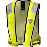 REV'IT! Hi-Viz Connector Vest -  Motorcycle Safety Gear & Protective Gear