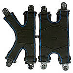 REV'IT! Tryonic T6 Knee Brace Fastening Set - Left -  Motorcycle Safety Gear & Protective Gear