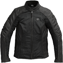 REV'IT! Women's Ignition 2 Jacket - Dainese Women's Cage Leather Jacket