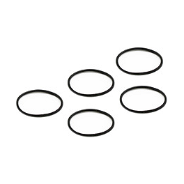 Replay XD1080 Lens Bezel & Rear Cap O-Ring - 5 Pack - GYTR Graphic Kit With Seat Cover - White / Red