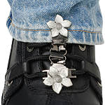 Ryder Clips Pant/Boot Clip - Flower -  Cruiser Footwear