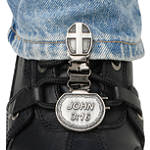 Ryder Clips Pant/Boot Clip - John 3:16 - Cruiser Boot Accessories