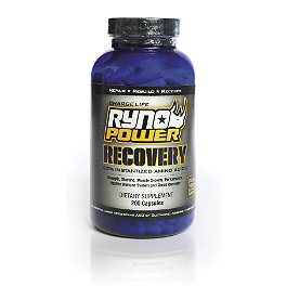 Ryno Power Recovery - Ryno Power Blender Bottle