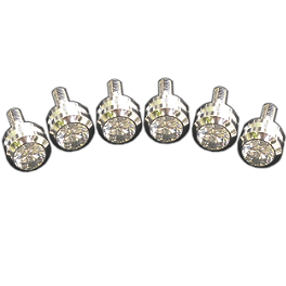 Sixty61 5mm Bling Bolts 6-Pack - Lockhart Phillips Spike Fasteners