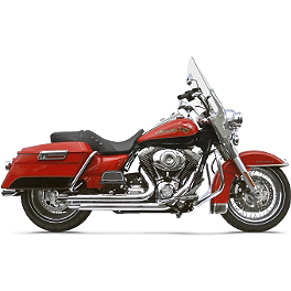Samson Legend Series Boloney Cut Exhaust - Vance & Hines Big Shots Long Exhaust - Chrome