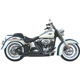 Samson Legend Series Hell Raisers Exhaust - Vance & Hines Shortshots Staggered Exhaust - Black