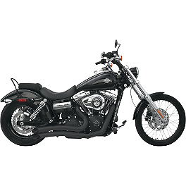 Samson Legend Series Hell Raisers Exhaust - Vance & Hines Sideshots Exhaust - Black