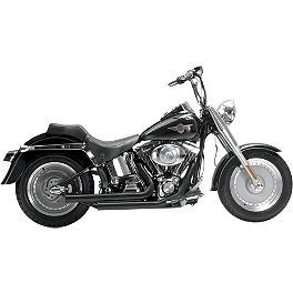 Samson Legend Series Pomona Exhaust - Vance & Hines Q-Series Double Barrel Exhaust - Chrome