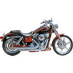 Samson Legend Series Slashers Exhaust -  Metric Cruiser Full Exhaust Systems