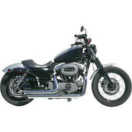 Samson Legend Series Streetsweepers Exhaust - Vance & Hines Q-Series Double Barrel Exhaust - Chrome