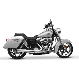 Samson Powerflow III 2-Into-1 Exhaust - Vance & Hines Pro Pipe Exhaust - Chrome
