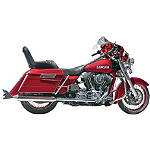 "Samson True Dual Crossover Full System With 4"" Longtail Mufflers - Cruiser Exhaust Systems"