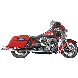Samson True Dual Crossover Full System With Longtail Mufflers - Samson True Dual Crossover Full System With Straight Longtail Mufflers