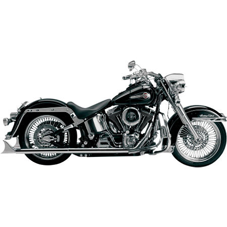 Samson True Dual Crossover Full System With Straight Longtail Mini Cholo Mufflers - Main