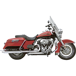 "Samson True Dual Crossunder Full System With 4"" BackSlash Mufflers - Samson True Dual Crossunder Full System With Slip-On Exhaust & Removable Longtail Tips"