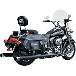 "Samson True Dual Crossover Full System With 4"" Mufflers & Endcaps - Samson Cruiser Exhaust"