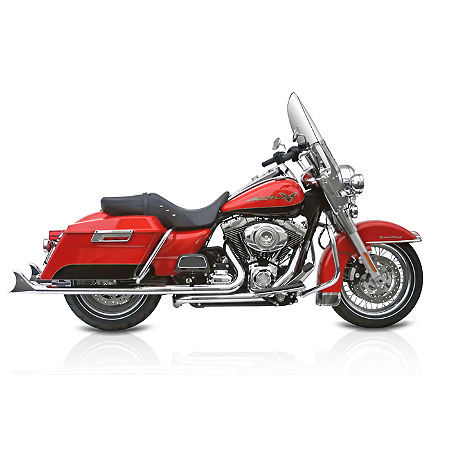 Samson True Dual Crossunder Full System With Slip-On Exhaust & Removable Longtail Tips - Main