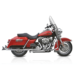 Samson True Dual Crossunder Full System With Slip-On Exhaust & Removable Longtail Tips - 2011 Harley Davidson Ultra Classic Electra Glide - FLHTCU Samson Silver Bullet 3