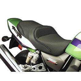 Sargent World Sport Performance Seat With Black Welt - 2004 Kawasaki ZR1200 - ZRX 1200R Sargent World Sport Performance Seat With Black Welt