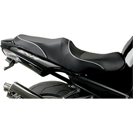 Sargent World Sport Performance Seat With Black Welt - 2010 Kawasaki ZX1400 - Ninja ZX-14 Sargent World Sport Performance Seat With Black Welt