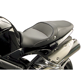 Sargent World Sport Performance Seat With Black Welt - 2006 Triumph Speed Triple Sargent World Sport Performance Seat With Black Welt