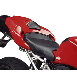 Sargent World Sport Performance Seat With Black Welt - 2004 Ducati 749 Sargent World Sport Performance Seat With Red Welt