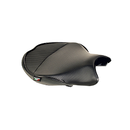 Sargent World Sport Performance Seat With Black Welt - 2007 Ducati 1098S Sargent World Sport Performance Seat With Red Welt