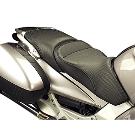 Sargent World Sport Performance Seat With Black Welt - 2008 Honda ST1300 Sargent World Sport Performance Seat With Black Welt