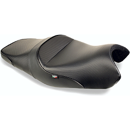 Sargent World Sport Performance Seat With Black Welt - 2005 Ducati SportTouring ST4S Sargent World Sport Performance Seat With Red Welt