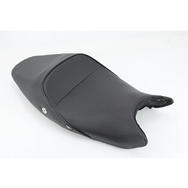 Sargent World Sport Performance Low Seat With Black Welt - 2009 Ducati Monster 1100S Sargent World Sport Performance Seat With Red Welt