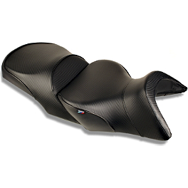 Sargent World Sport Performance Seat With Black Welt And Rear Seat Cover - 2010 Ducati 1198S Sargent World Sport Performance Seat With Red Welt