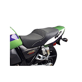 Sargent World Sport Performance Solo Seat With Black Welt - 2003 Kawasaki ZR1200 - ZRX 1200R Sargent World Sport Performance Seat With Black Welt