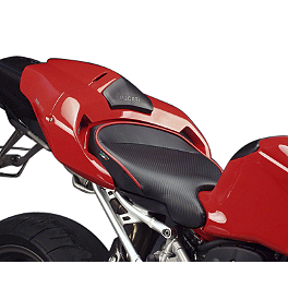 Sargent World Sport Performance Seat With Red Welt - 2004 Ducati 749 Sargent World Sport Performance Seat With Black Welt