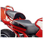 Sargent World Sport Performance Two Piece Seat With Red Welt - SARGENT Motorcycle Products