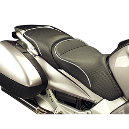 Sargent World Sport Performance Seat With Silver Welt - 2008 Honda ST1300 Sargent World Sport Performance Seat With Black Welt