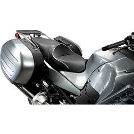 Sargent World Sport Performance Seat With Silver Welt - 2012 Kawasaki ZG1400 - Concours ABS Sargent World Sport Performance Seat With Black Welt