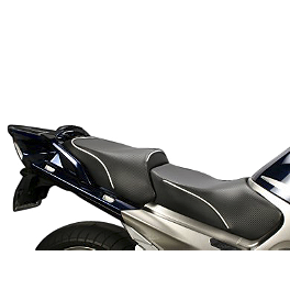 Sargent World Sport Performance Two Piece Seat With Silver Welt - Sargent World Sport Performance Seat With Black Welt