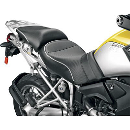 Sargent World Sport Performance Two Piece Low Seat With Silver Welt - 2008 BMW K 1200 GT Sargent World Sport Performance Two Piece Seat With Black Welt